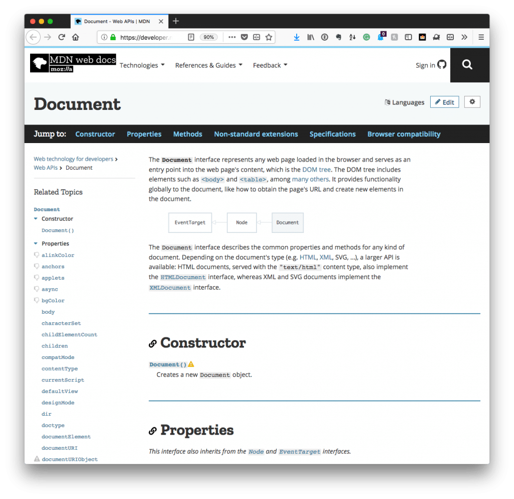 Custom jQuery Events: Document Object