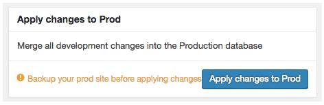 WordPress Database Migration: Apply