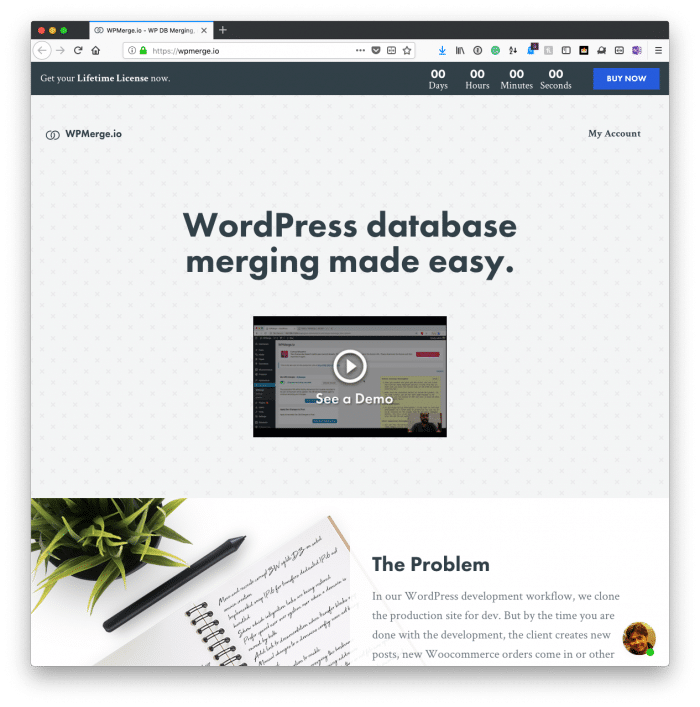 WordPress Database Merging Made Easy with WPMerge | Tom McFarlin