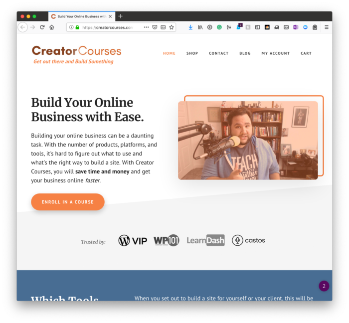 Discounted Memberships: Creator Courses