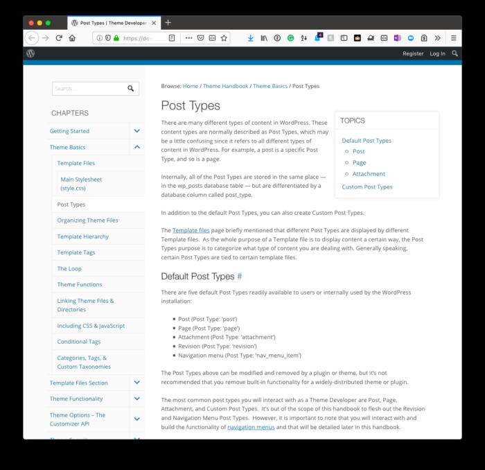 Custom Archive Templates: Custom Post Types