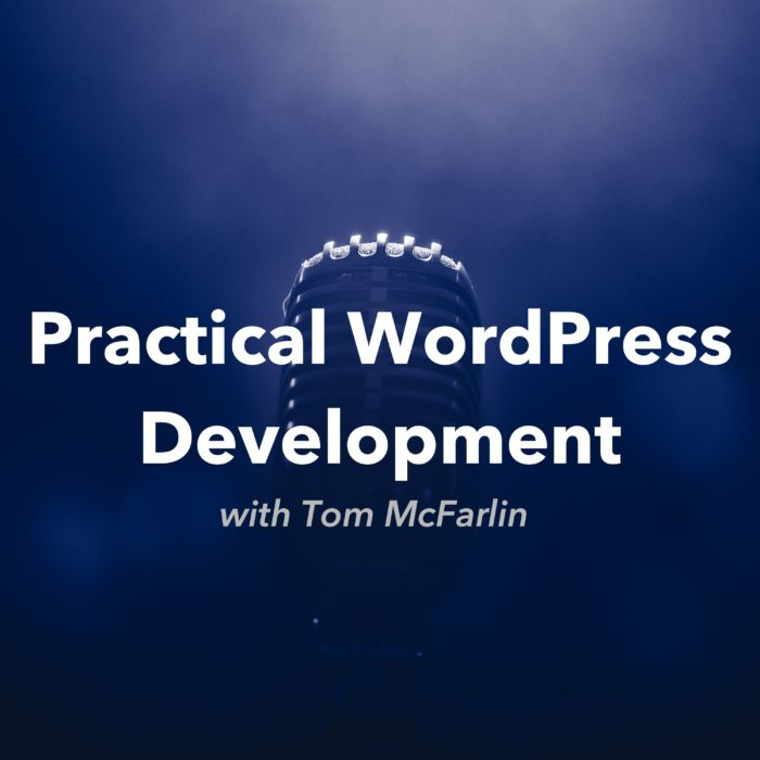 Practical WordPress Development Podcast: Podcast Covert Art