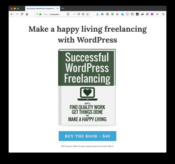 Succesful WordPress Freelancing