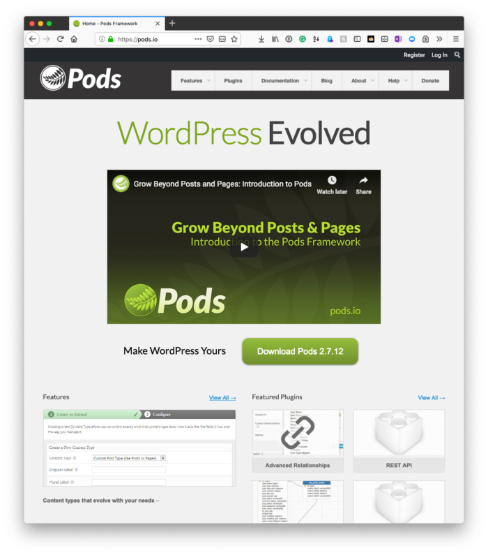 Current User ID with Pods: Pods Framework