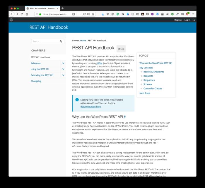 Structuring API Functionality: The WordPress REST API